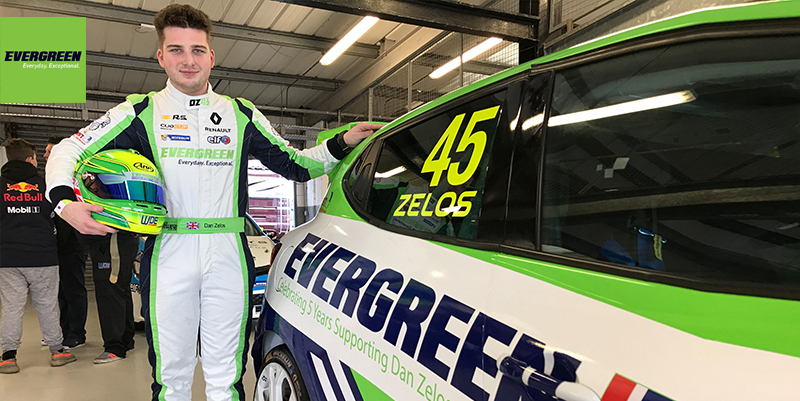 Clio Cup Racer Dan Zelos Extends Evergreen Partnership For 5th Year