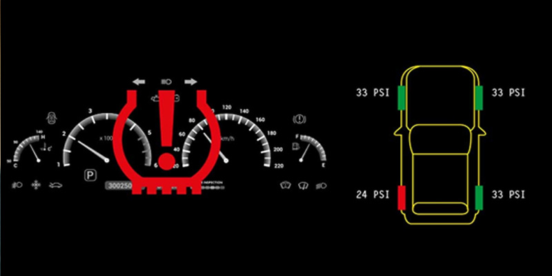 Tyre warning light on? Don't ignore it!